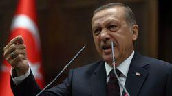 Erdogan présente les condoléances de la Turquie pour les massacres