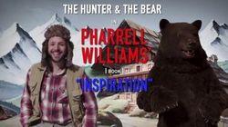 Pharrell Williams dans la nouvelle pub interactive