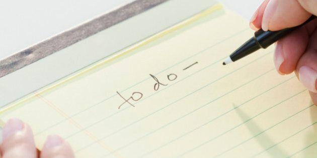 Comment s'organiser au bureau? 3 conseils pour bien faire sa to-do list (et passer au