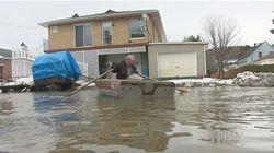 Plusieurs provinces sont aux prises avec des inondations