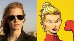 Jessica Chastain en super-héroïne de chez