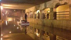 La pluie cause des inondations dans le sud du