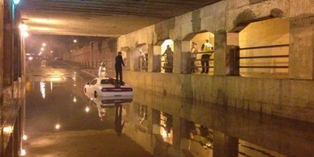 Pluies et inondations dans le sud du