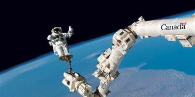 L'Agence spatiale canadienne désolée d'avoir retouché une photo du bras