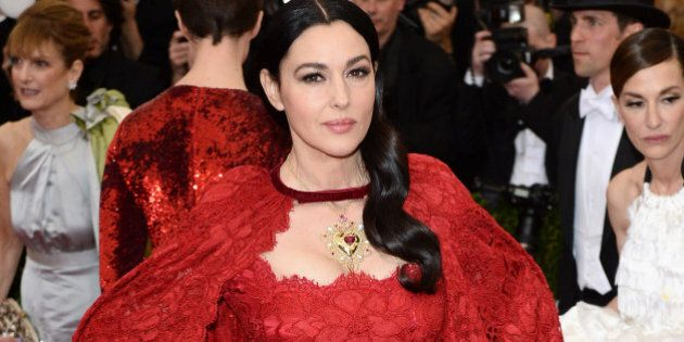 NEW YORK, NY - MAY 05: Monica Bellucci attends the 'Charles James: Beyond Fashion' Costume Institute...