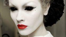Pas de costume pour l'Halloween? Un bon maquillage