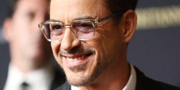 BEVERLY HILLS, CA - OCTOBER 30: Robert Downey Jr. arrives at the BAFTA Los Angeles Jaguar Britannia Awards...