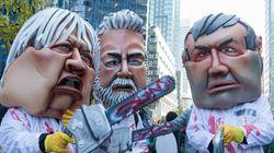La manifestation contre l'austérité déclarée illégale