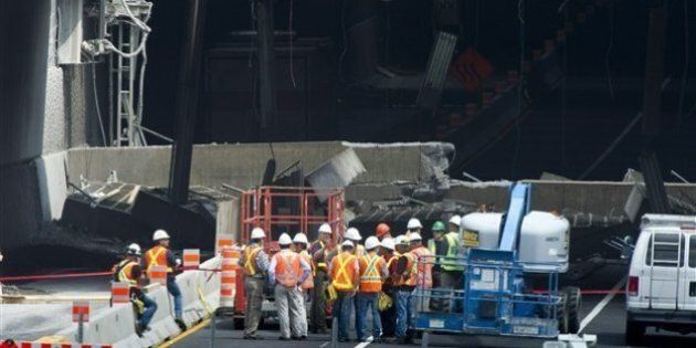 Effondrement du tunnel Viger : plaintes contre deux ingénieurs de