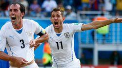 Mondial-2014: L'Uruguay qualifiée pour les 8e de finale aux dépens de