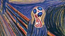Le logo de la Coupe du monde en Russie inspire les