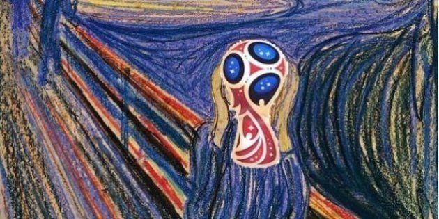 Coupe du monde 2018 en Russie: le logo de la compétition inspire les internautes