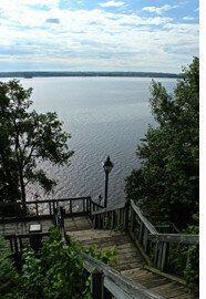 Sur le chemin du Compostelle québécois: Deschambault à Donnacona