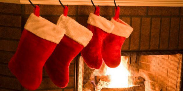 Quoi mettre dans le bas de Noël?