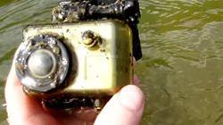 Le long voyage d'une caméra GoPro sous l'eau