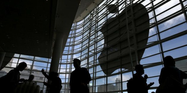 SAN FRANCISCO, CA - JUNE 02: Attendees gather at the Apple Worldwide Developers Conference at the Moscone...