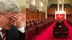 Réforme du Sénat: les projets de Stephen Harper tombent à