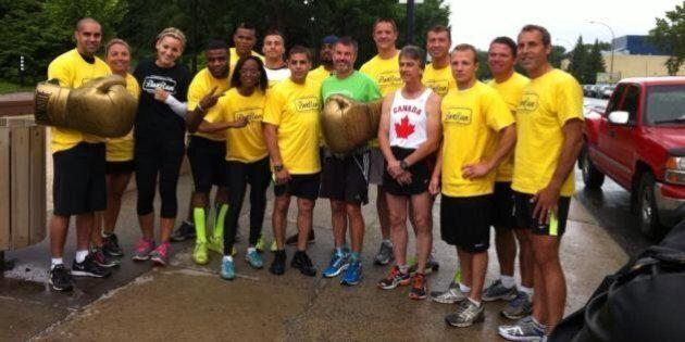 Passer le K.-O. au cancer : Mike Strange court 90 marathons en 90