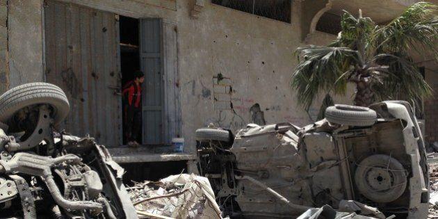 Bande de Gaza : de nouveaux raids aériens font monter le bilan des victimes à 202