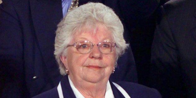 Madeleine Bleau, ancienne députée libérale dans la circonscription de Groulx est morte à l'âge de 85