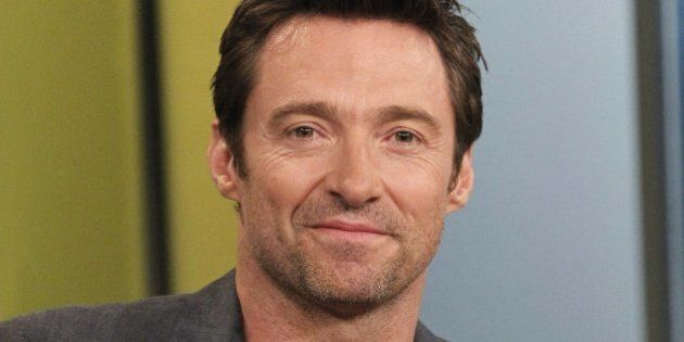 THE VIEW - Hugh Jackman visits the ladies of  'THE VIEW,' 9/18/13 (11:00 a.m. - 12:00 noon, ET) airing on the ABC Television Network.   (Photo by Lou Rocco/ABC via Getty Images)   HUGH JACKMAN