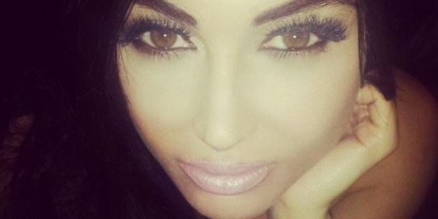 Fan de Kim Kardashian, cette Anglaise de 24 ans dépense 33 600$ pour être son sosie