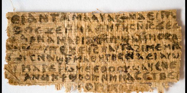 Le papyrus controversé évoquant la femme de Jésus est bien ancien selon une