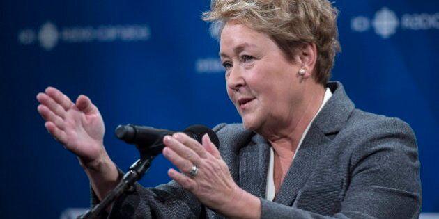 Élections 2014: Pauline Marois déplore les attaques de Françoise David à son