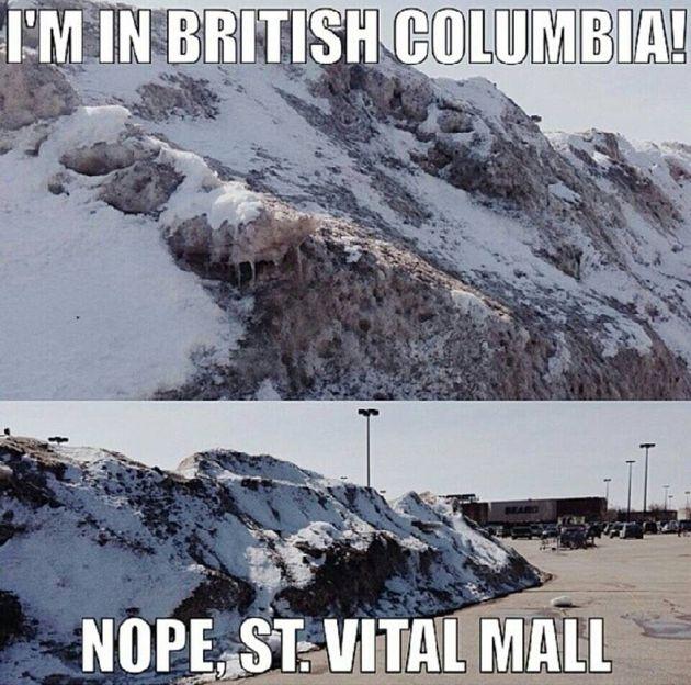 Les signes que l'hiver à Winnipeg est pire que le vôtre