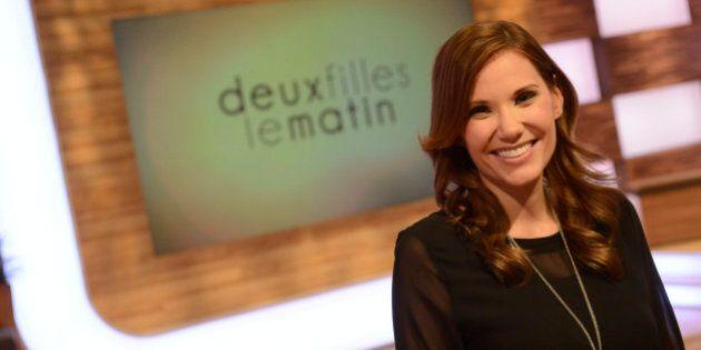 TVA: Annie-Soleil Proteau abandonne «Deux filles le
