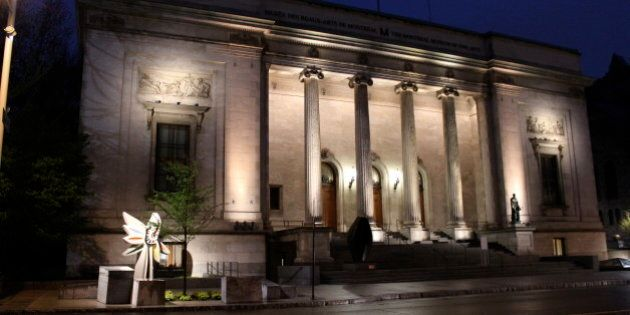 The Musee-des-Beaux-Arts (Museum of Fine Arts) in Montreal. Fittingly located in a Beaux Arts-styled