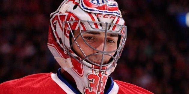 MONTREAL, QC - FEBRUARY 2: Carey Price #31 of the Montreal Canadiens skates during the NHL game against...