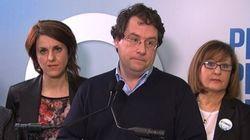 «Un vote pour le Parti libéral, c'est un vote contre la charte», affirme Bernard Drainville