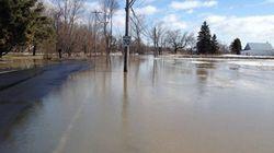 Inondations: la zone sous surveillance