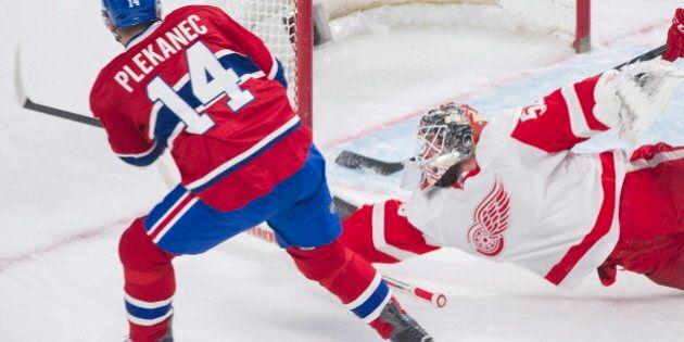 Le Canadien résiste à la remontée des Red Wings
