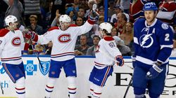 Le Canadien remporte le premier match contre le Lightning