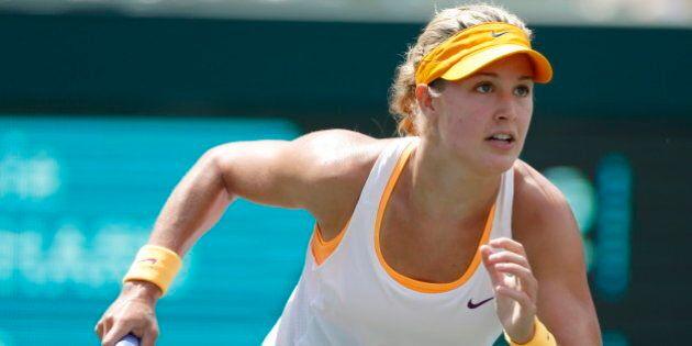 La joueuse de tennis Eugenie Bouchard accède aux demi-finales à
