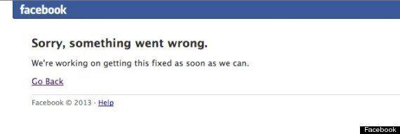 Facebook perturbé pendant une vingtaine de minutes par une panne