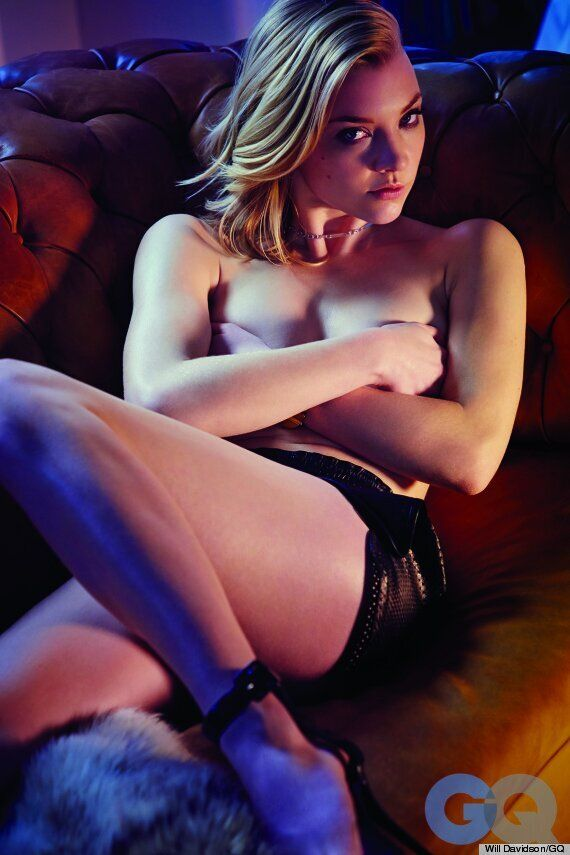 Margaery Tyrell de «Game of Thrones» sans le haut pour GQ