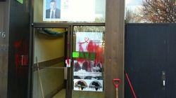 Vandalisme au local électoral du candidat péquiste Daniel