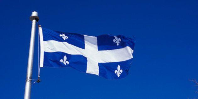 Fleur de Lys Provincial Flag of
