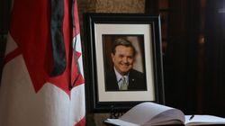 Les funérailles nationales pour Jim Flaherty ont eu lieu aujourd'hui à Toronto