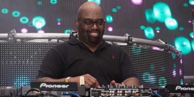 CHICAGO, IL - JULY 06: Frankie Knuckles performs during the 2013 Wavefront Music Festival at Montrose...