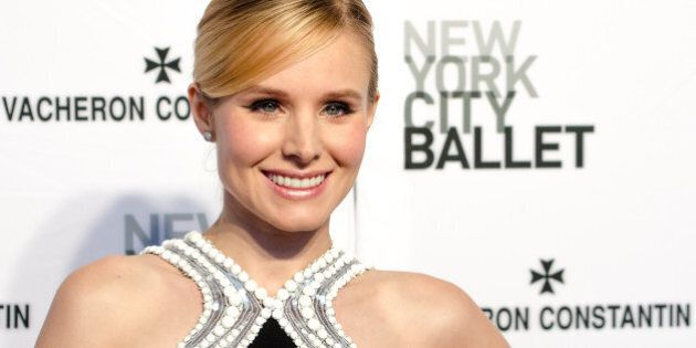 NEW YORK, NY - MAY 08: Actress Kristen Bell attends the New York City Ballet 2014 Spring Gala at David...