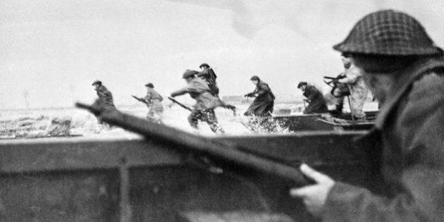Le débarquement de Normandie en photos pour les commémorations de son 70e anniversaire