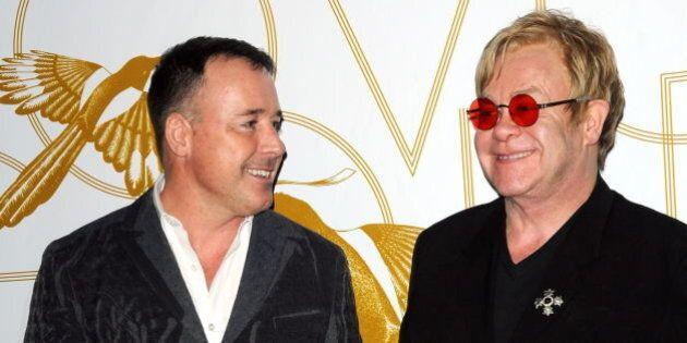 Elton John épousera son conjoint David Furnish lors d'une cérémonie