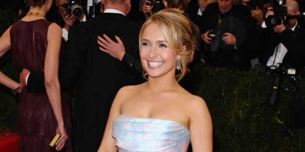 NEW YORK, NY - MAY 05: Hayden Panettiere attends the 'Charles James: Beyond Fashion' Costume Institute...