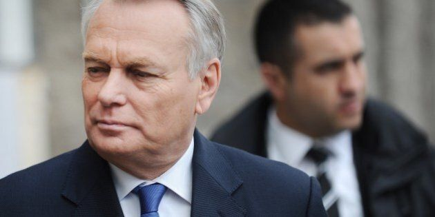 French Prime Minister and former Nantes mayor, Jean-Marc Ayrault, arrives to cast his ballot in the second...