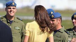 Kate Middleton a un «moment à la