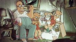 Les «Triplettes de Belleville» chez les Simpson